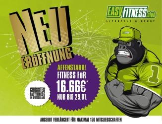 easy fitness Neueröffnung