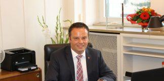 Oberbürgermeister Claudio Griese