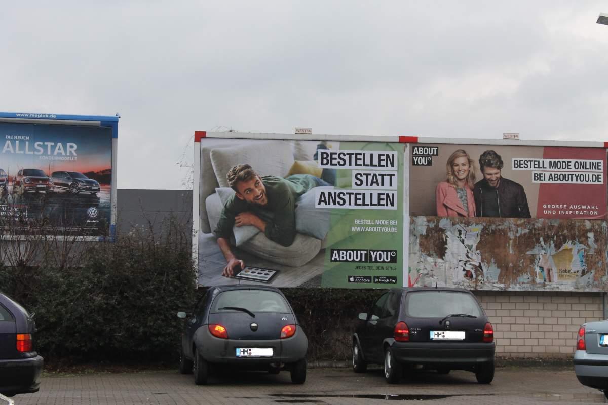 Plakat - Werbung - Onlineshop - Handel - Hameln - neueWoche