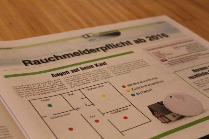 nw sonderthema rauchmelderpflicht. Black Bedroom Furniture Sets. Home Design Ideas