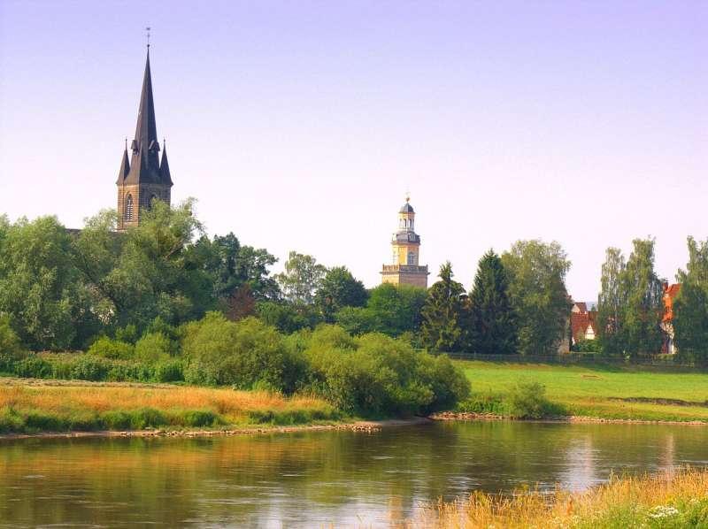 An_der_Weser_bei_Rinteln