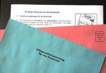 Briefwahl - Unterlagen