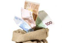 Geldsack - Nachtragshaushaltsgesetz 2016