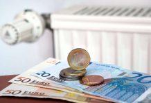 Geld - Heizung - Gaspreissenkung