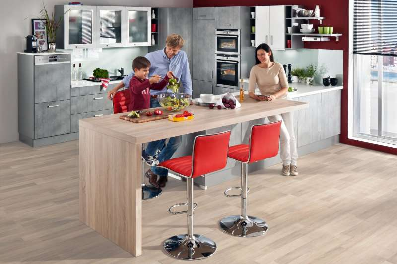 die moderne k che. Black Bedroom Furniture Sets. Home Design Ideas