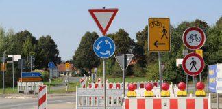 Der Weserradweg wird ab Donnerstag, 15. September, wegen Bauarbeiten an der Weserbrücke gesperrt.