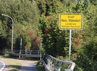 Hessisch Oldendorf - Ortsschild