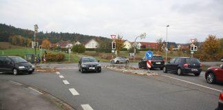 Unfall B1 Werkstraße