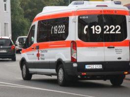 Krankenwagen Blaulicht 110