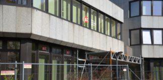 Agentur für Arbeit - Bauzaun