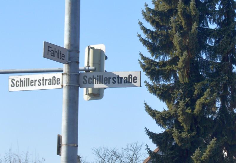 Hameln - Schillerstraße - Fahlte - ms
