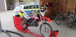 Roller Prüfstand Polizei