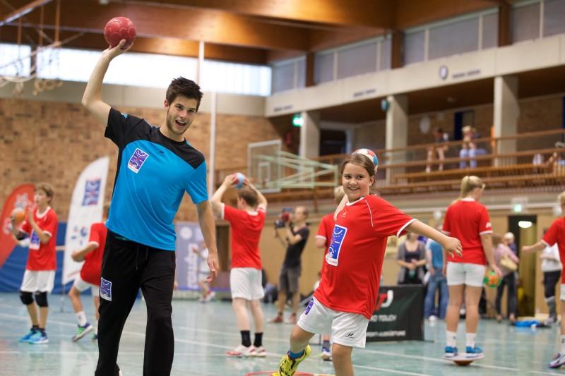 INTERSPORT Handballschule supported by star ©ORLEN Deutschland