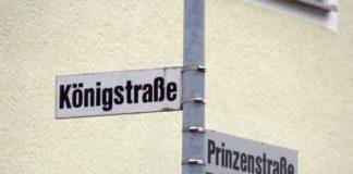 Königstraße, Prinzenstraße js
