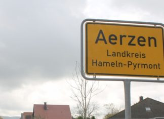Aerzen Ortsschild