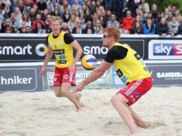 Beachvolleyball Hameln Bergmann und Harms