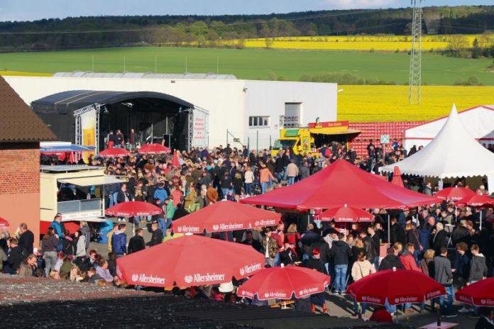 Brauereifest in Allersheim -letztes Jahr - gut besucht