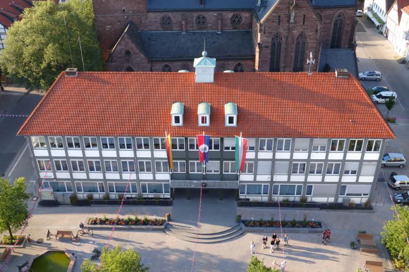 Rathaus Lügde SPD Antrag Wohnungsbaupolitik