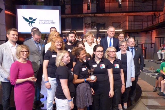 Die Elisabeth-Selbert-Schule gewinnt den Deutschen Schulpreis 2017
