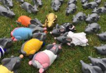 Bunte Ratten - Rattenrennen Hameln