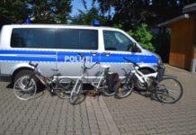 Polizei - Fahrräder