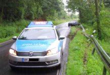K16 - Unfall - BMW - Schutzplanke