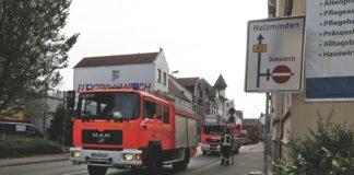 Fischbecker Straße Feuerwehr Einsatz