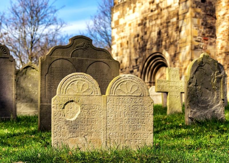 Grabsteine Hessisch Oldendorf Friedhof