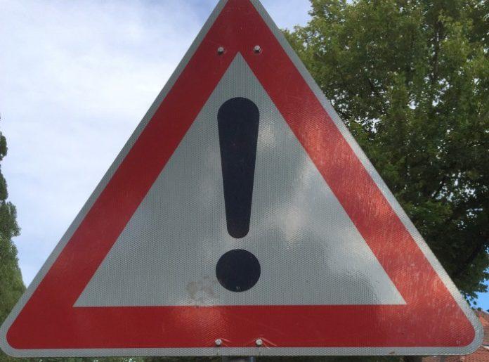 Achtung - Schild