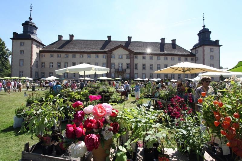 Gartenfest Corvey Schloss