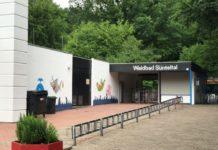 Waldbad Sünteltal Eingang