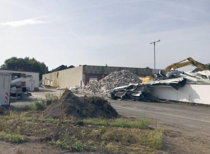 Aldi - Hastenbecker Weg - Bauarbeiten