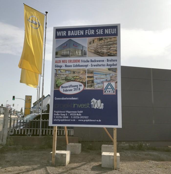 Aldi - Hastenbecker Weg - Neueröffnung