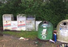 Altglascontainer-Fischbeck