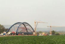 neue Weserbrücke Fuhlen