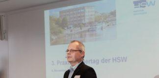 2017_Praxispartnertag_HSW-Präsident Prof. Dr. Hans Ludwig Meyer