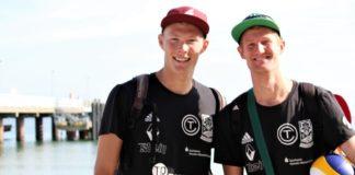 Bergmann und Harms - Nationalteam 2018