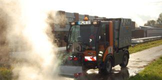 Heißwassergerät Betriebshof Stadt Hameln Glyphosat