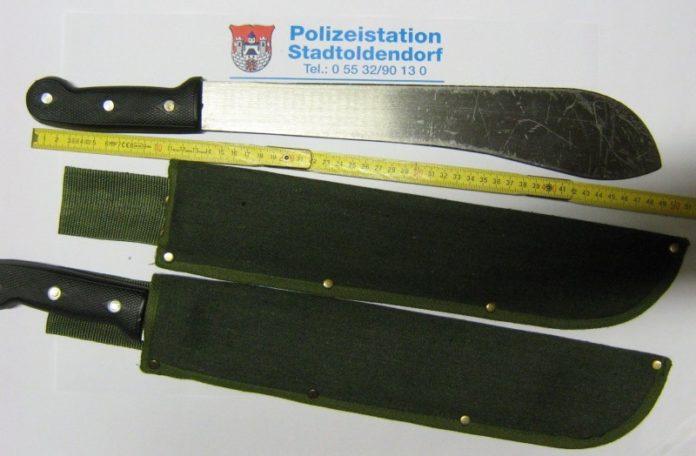 Buschmesser - Macheten - Polizei - web