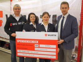 DRK Spende Würth