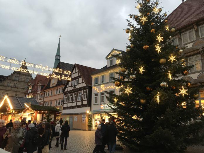Tannenbaum Weihnahctsmarkt