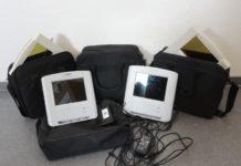 Projektoren mit Taschen - Polizei