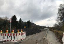 Amelgatzen Brücke Baustelle