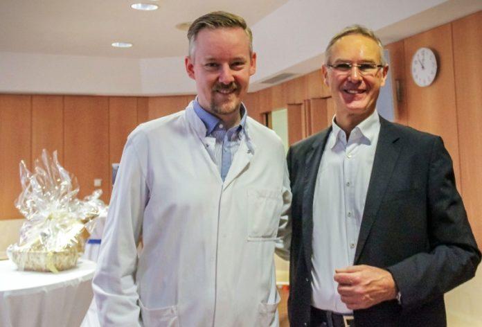 Dr. Schwerdtfeger und Dr. Müller - Neue Leitung Notaufnahme