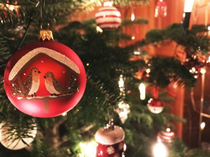 Weihnachtsbäume abgeholt Baumkugel