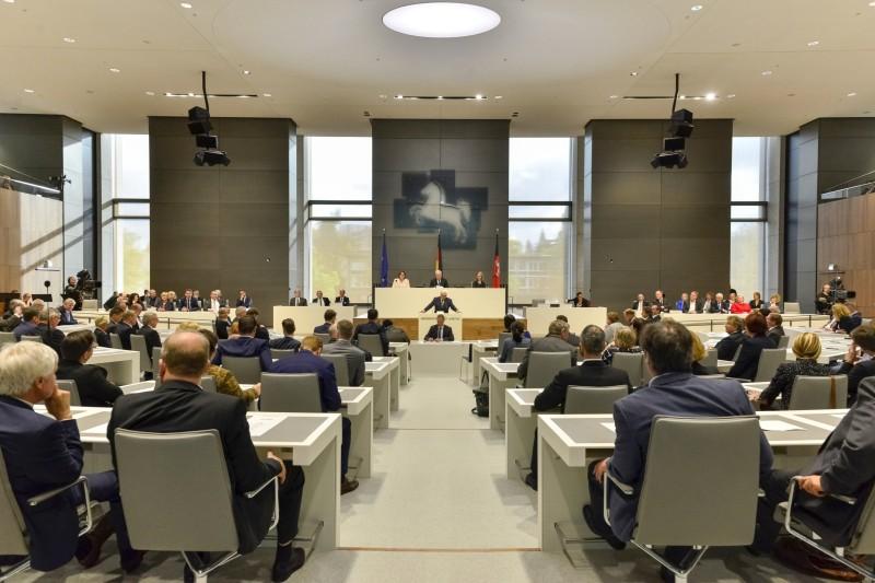 Landtag_Plenarsaal ©Tom Figiel