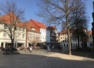 Fußgängerzone - Pferdemarkt