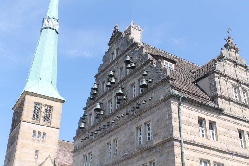 Marktkirche und Hochzeitshaus