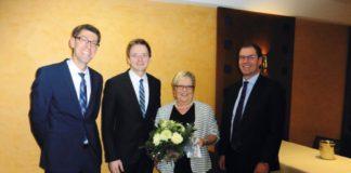 Volksbank Verabschiedung Gisela Brockmann