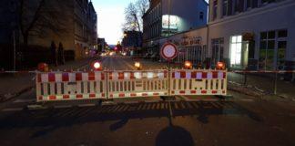 Polizei Deisterstraße Sperrung